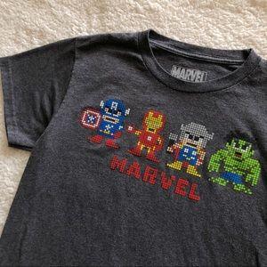 Marvel Super Heroes Pixel T-Shirt